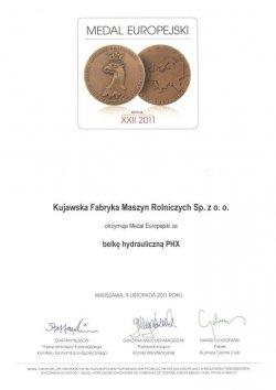 medal europejski bcc belka phx
